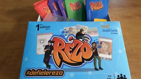 RÉZO, un jeu de société pour contrer la cyberdépendance.