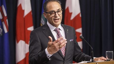 Joe Ceci, ministre des Finances de l'Alberta
