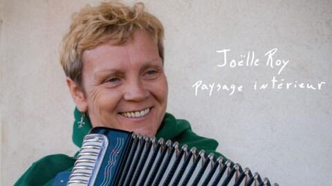 Voici la pochette du nouveau disque de Joëlle Roy.