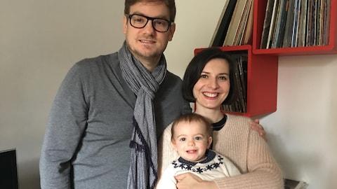 Une jeune famille parisienne