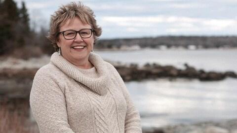 Julie Chaisson est directrice générale du marché des fermiers Seaport d'Halifax.