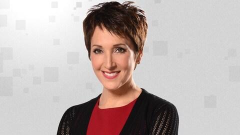 Julie Drolet, animatrice de l'émission Les Ex