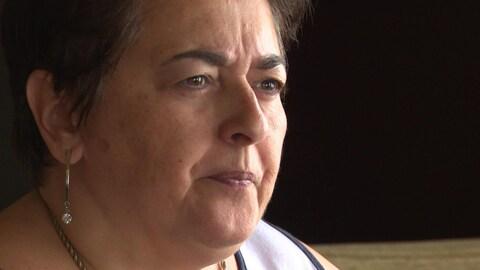 Karen Brideau Haché qui s'inquiète pour sa soeur, la conseillère Ginette Brideau-Kervin.