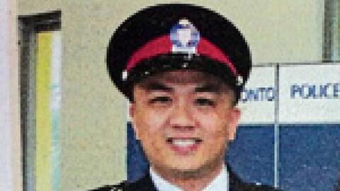Portrait de l'agent Ken Lam