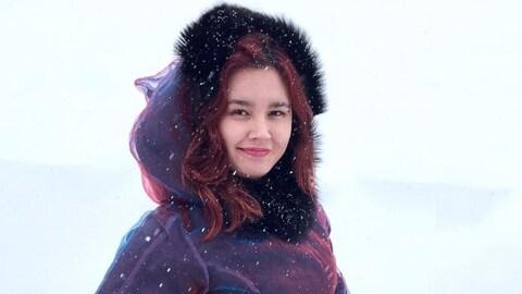 La chanteuse inuite Aasiva