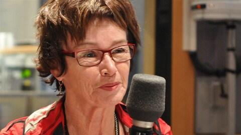 Louise Chabot, présidente de la Centrale des syndicats du Québec.