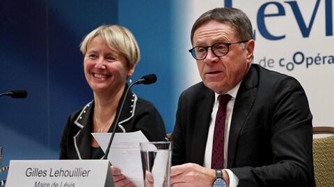 Le maire de Lévis Gilles Lehouillier.