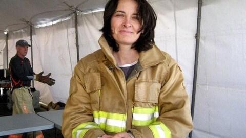 L'ancienne pompière Liane Tessier