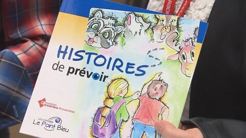 La Fondation Cédrika Provencher lance un livre pour prévenir les enlèvements d'enfants.