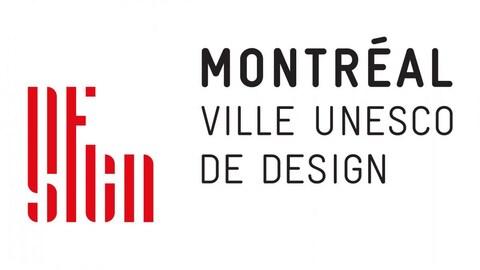 Logo de Montréal, ville UNESCO de design