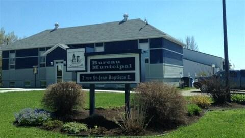 Le bureau municipal de Lorrainville.
