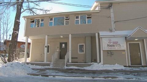 La Maison Nazareth, un des quelques refuges pour sans-abri de Moncton.