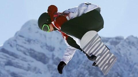Le planchiste canadien Mark McMorris espère participer aux Jeux oympiques de 2018 en Corée du Sud.