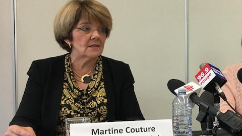 La PDG du CIUSSS, Martine Couture