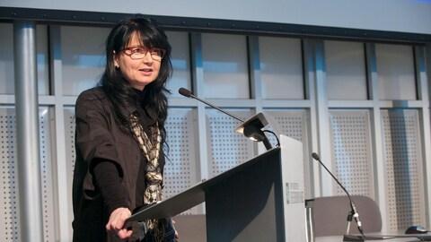 Martine Pelletier, professeure au département de lettres et communications à l'Université de Sherbrooke