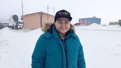 Matt Kanayok, 17 ans, dit avoir été soutenu et accepté dans sa petite communauté d'Ulukhaktok, dans les T.N.O, après avoir révélé être transgenre.