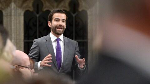 Matthew Dubé, député du NPD.