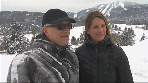 Alain Parrot et Suzanne Noël, parents de Maxence Parrot.