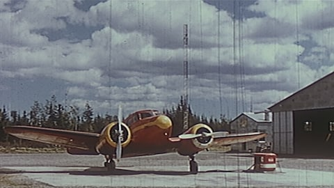 Un des premiers avions de Michel Pouliot