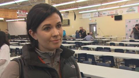 Michelle McHale, candidate à la direction du NPD du Manitoba