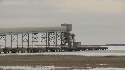 Les installations de Mines Seleine