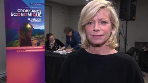 La ministre du Tourisme, Caroline Proulx.