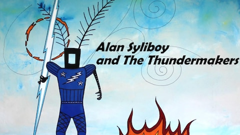 Alan Syliboy, un artiste micmac avec The Thundermakers.