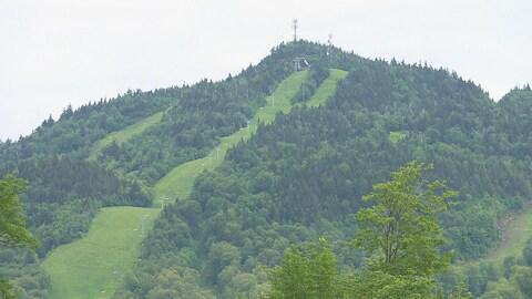 La montagne est inaccessible cet été en raison des travaux en cours.
