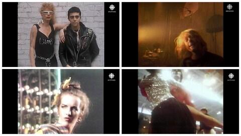 Montage de photos illustrant les quatre mouvements musicaux.