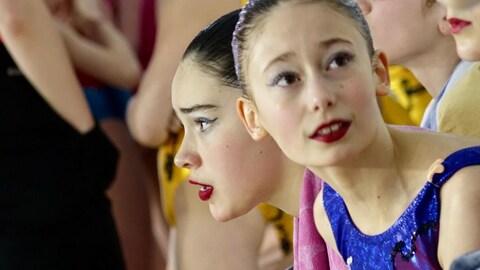 Finale des Jeux de l'Est du Québec en nage synchronisée