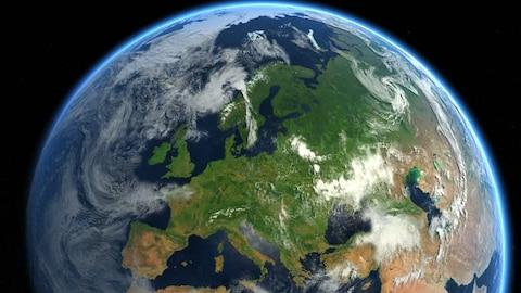 La météo extrême en Europe liée aux fluctuations du courant-jet