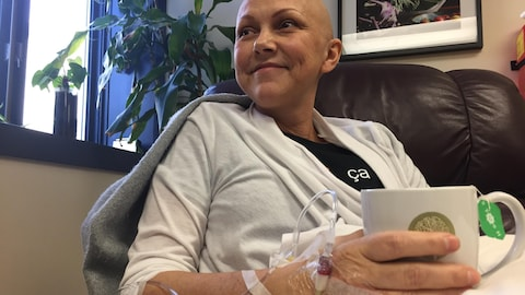 Nathalie Prud'homme recevait des injections de vitamine C à Ottawa.