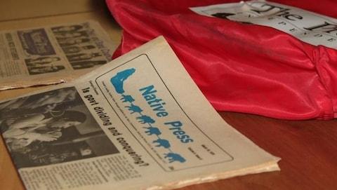 Le journal Native Press a existé lors d'une période faste des Territoires du Nord-Ouest.