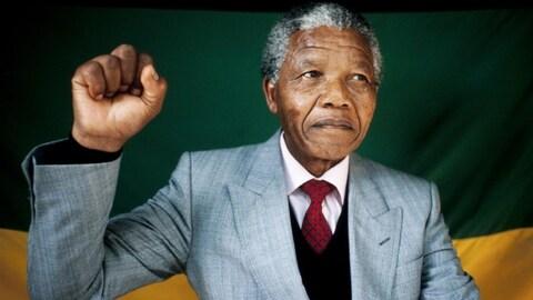 L'ex-président d'Afrique du Sud, Nelson Mandela