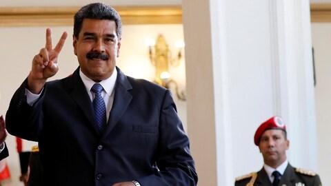 La route semble dégagée pour Nicolas Maduro, en route pour un nouveau mandat présidentiel qui doit commencer en janvier 2019.