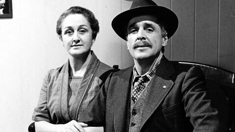 Nicole Leblanc et Jean Besré dans « Le temps d'une paix »