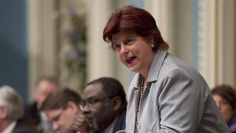 Nicole Léger, députée péquiste de Pointe-aux-Trembles