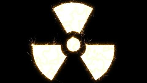 Le logo du nucléaire