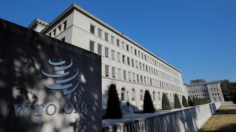 Le siège de l'Organisation mondiale du commerce (OMC) à Genève, en Suisse