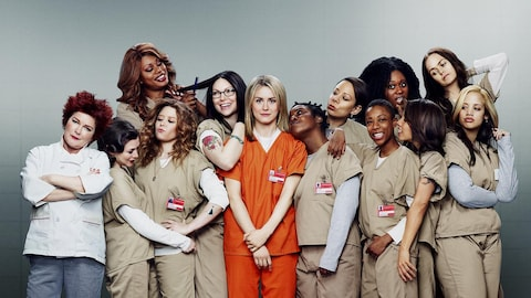Les actrices de la série «Orange Is the New Black» lors de la quatrième saison.