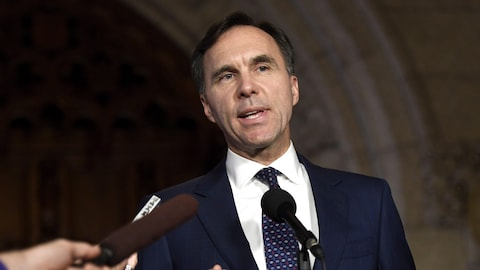 Le ministre des Finances du Canada, Bill Morneau