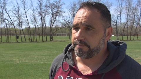 L'ancien entraîneur de soccer professionnel, Patrick Di Stefani.