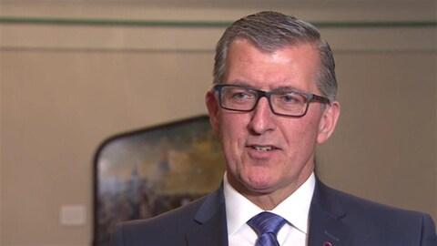 L'ancien chef du Parti progressiste-conservateur de Terre-Neuve-et-Labrador, Paul Davis.