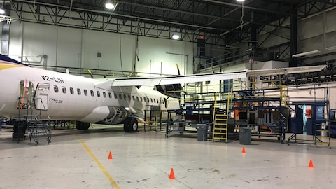 Pénurie de main-d'oeuvre dans l''industrie aérospatiale.