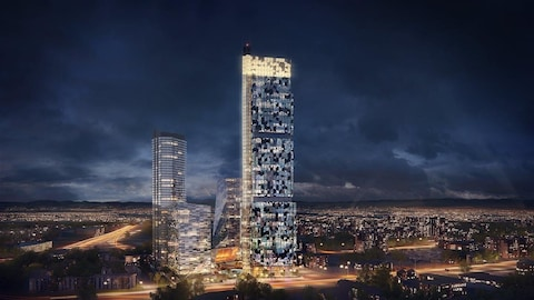 La nouvelle mouture du Phare prévoit une tour de 65 étages ainsi que trois bâtiments adjacents.