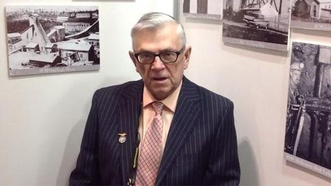 Le maire de Red Lake Phil Vinet.