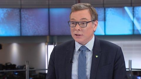 Le président du conseil d'administration de la STM Philippe Schnobb