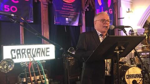 Le directeur général du Festival international de la chanson de Granby, Pierre Fortier a  annoncé un grand concert avec l'OSM pour les 50 ans de l'événement.