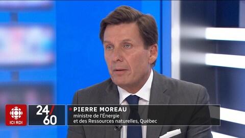 En entrevue, Pierre Moreau