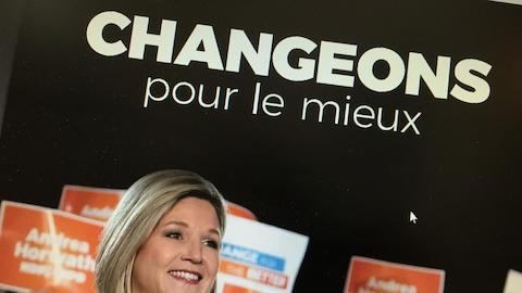 La première page de la version française de la plateforme électorale du NPD
